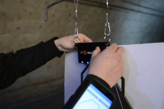 Electronic Trainshot target instalation