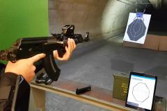 AK 47 electronic training target