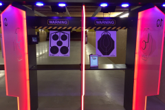 LCTS Trainshot shooting range system multiple target