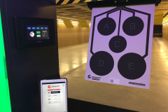 LCTS Trainshot shooting range system tablet