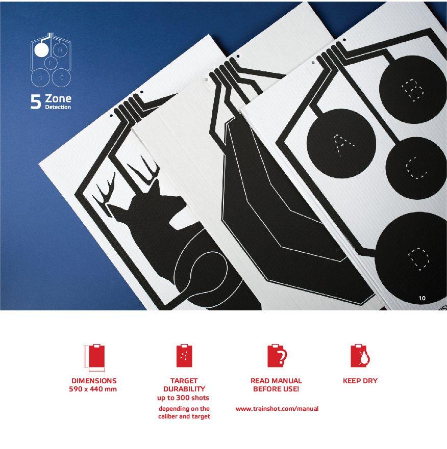 electronic target designs