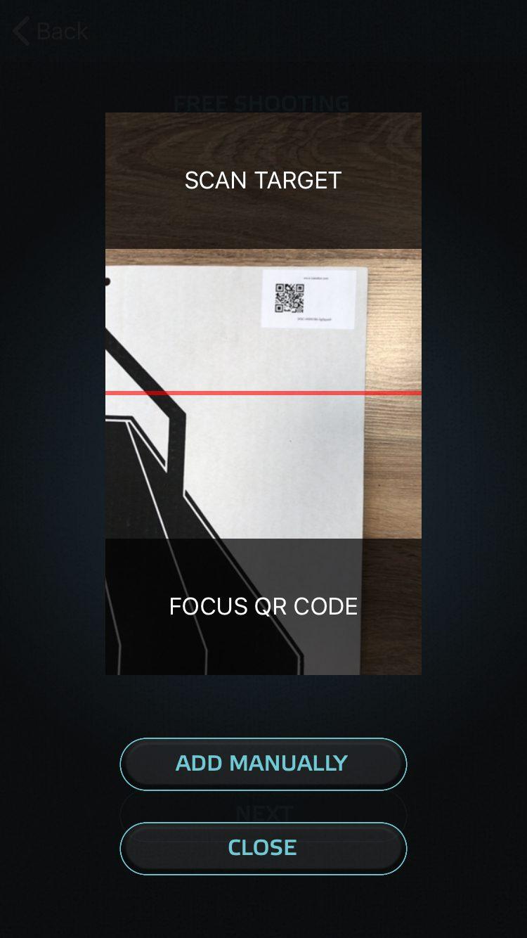 TrainShot electronic paper target scanning