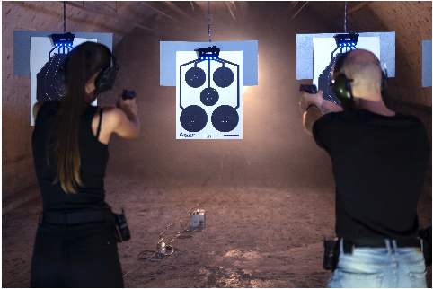 trainshot global online challenge competitors shooting range 1
