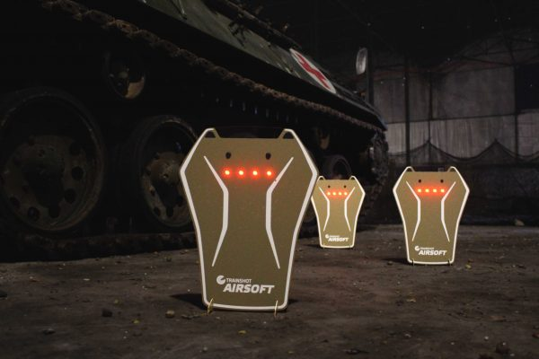 trainshot smart airsoft targets tank