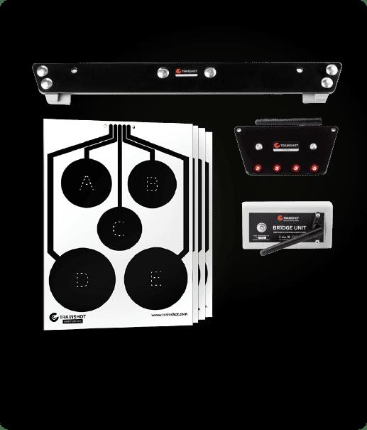 trainshot products portfolio long range kit