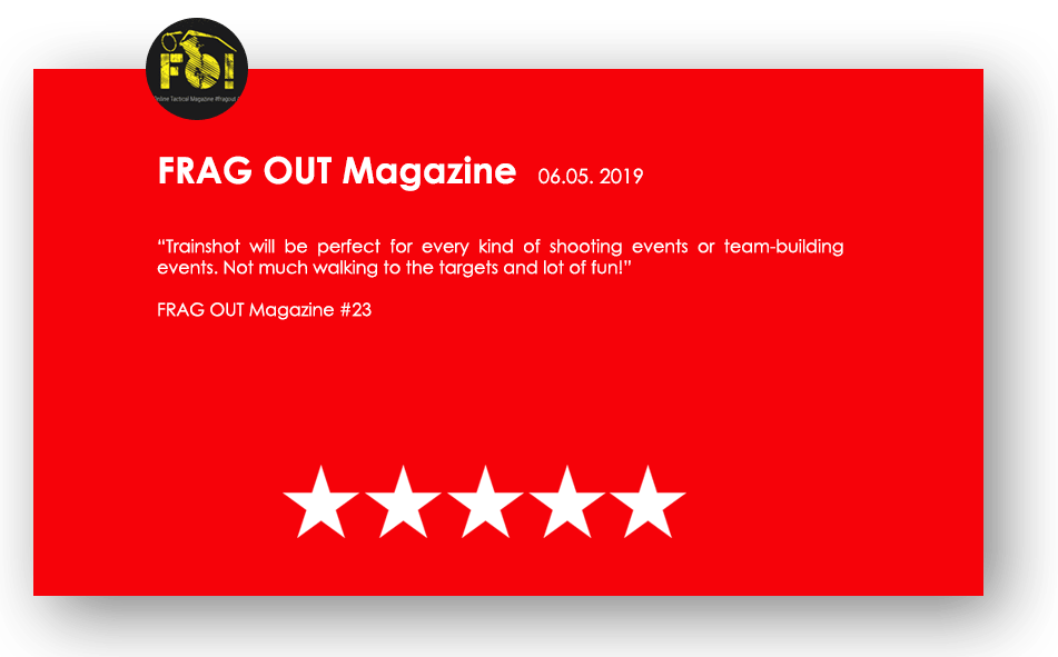 frag out magazine review