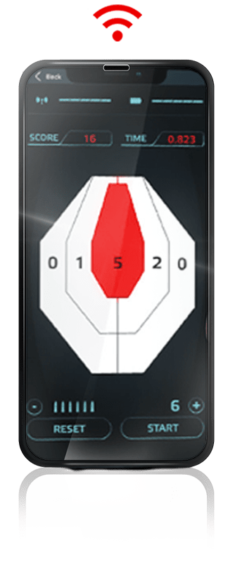 Trainshot shooting app