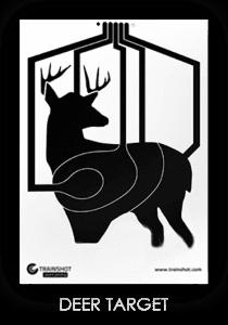 Trainshot deer smart target